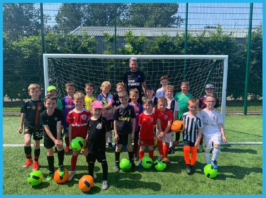 Newcastle Elite Academy Football Holiday Courses