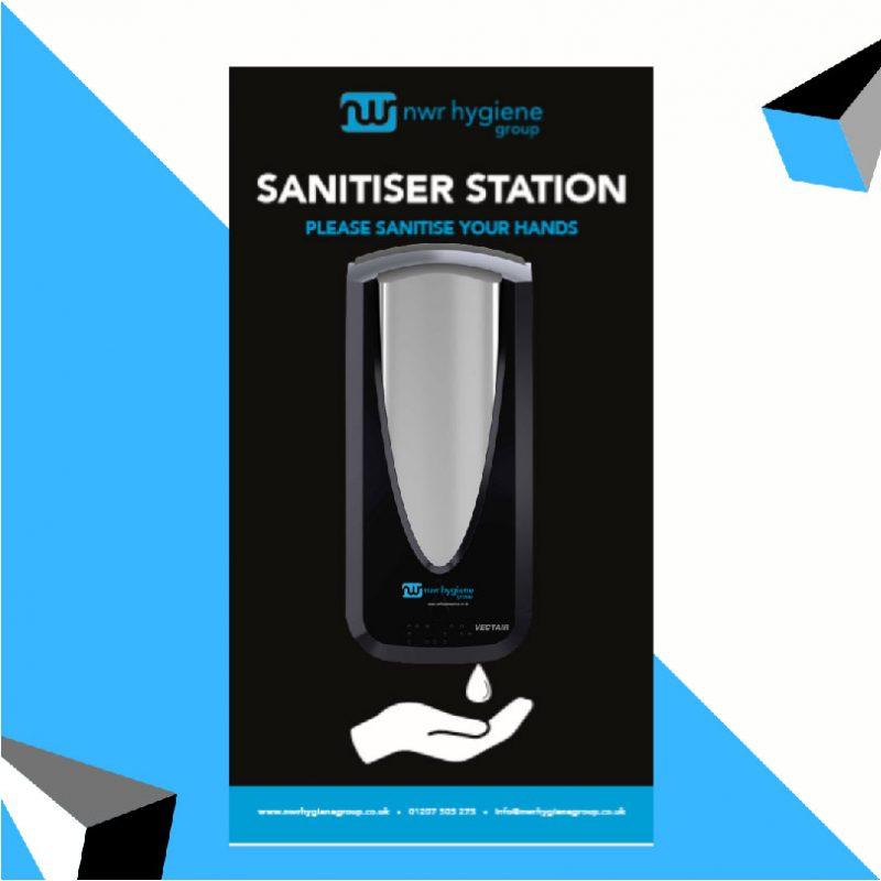 NWR Hygiene Sanitiser Newcastle Elite Academy Sponsor